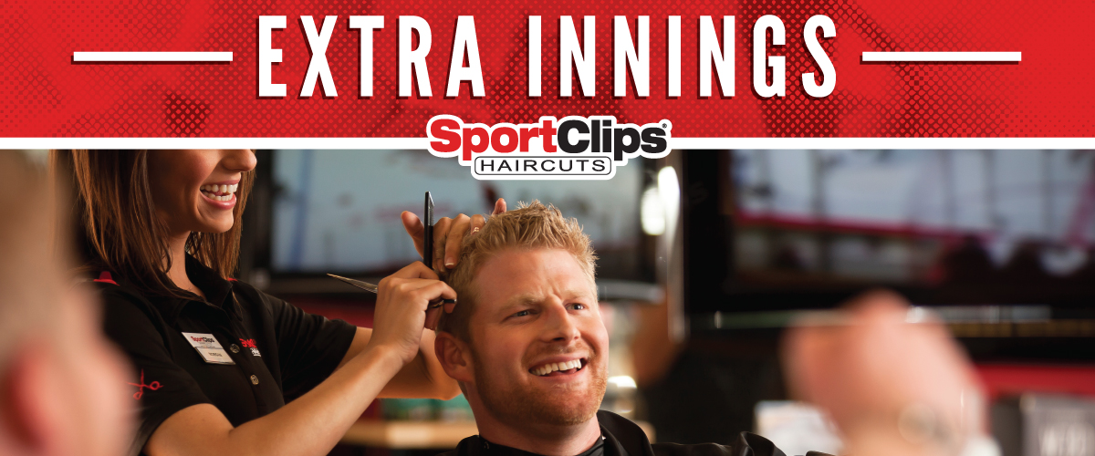 The Sport Clips Haircuts of Mequon Extra Innings Offerings